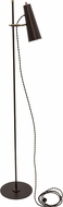 House of Troy NOR300-CHBAB Norton Chestnut Bronze with Antique Brass Accents LED Floor Lamp Light