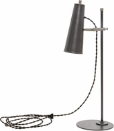 House of Troy NOR350-GTSN Norton Granite with Satin Nickel Accents LED Table Lamp Lighting