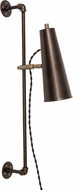House of Troy NOR375-CHBAB Norton Chestnut Bronze with Antique Brass Accents LED Wall Sconce