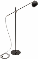House of Troy OR700-BLKSN Orwell Black with Satin Nickel Accents LED Floor Lamp Lighting
