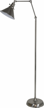 House of Troy OT600-SN-MS Otis Satin Nickel Floor Light