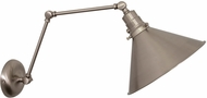 House of Troy OT625-SN Otis Satin Nickel Wall Swing Arm Lamp