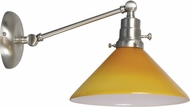 House of Troy OT675-SN-AM Otis Satin Nickel Swing Arm Wall Lighting