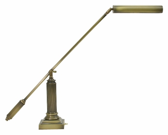 House of Troy P10-191-71 Grand Piano 26 Inch Tall Fluorescent Antique Brass Piano Light