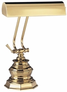 House of Troy P10111 P10-111 Ten Inches Piano Lamp in Polished Brass