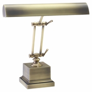 House of Troy P14-202-AB Antique Brass 13 Inch Tall Transitional Piano/Desk Lamp