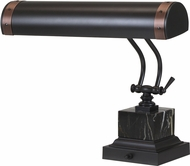 House of Troy P14-290-MBAC Steamer Mahogany Bronze w/ Antique Copper Accents Piano Lamp