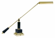 House of Troy PS10-190-M Grand Piano Polished Brass & Black Marble Finish 26 Inch Tall Piano Light
