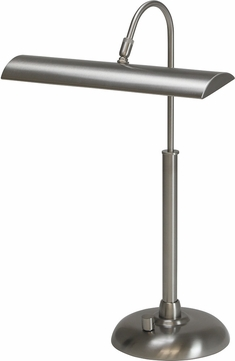 House of Troy PZLEDZ100-52 Zenith Satin Nickel LED Piano Lamp