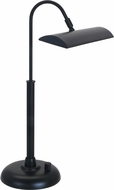 House of Troy PZLEDZ100-7 Zenith Black LED Piano Light