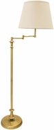 House of Troy RA301-AB Randolph Antique Brass Light Floor Lamp