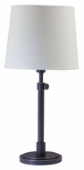 House of Troy TH750-OB Townhouse 23 Inch Tall Oil Rubbed Bronze Bed Lamp - Transitional
