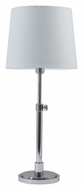 House of Troy TH750-PN Townhouse Adjustable 23 to 28 Inch Tall Polished Nickel Table Top Lamp