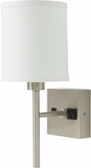 House of Troy WL625-SN Decorative Satin Nickel Wall Lamp