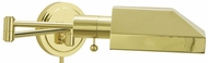 House of Troy WS1261J WS12-J Task Swing Arm Wall Lamp in Polished Brass