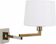House of Troy WS720-PN Wall Swing Arm Polished Nickel Swing Arm Wall Lamp
