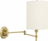 House of Troy WS721-AB Wall Swing Arm Antique Brass Wall Swing Arm Lamp