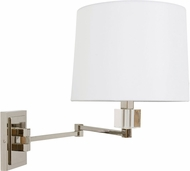 House of Troy WS722-PN Wall Swing Arm Polished Nickel Swing Arm Wall Lamp