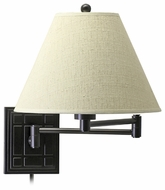 House of Troy WS750 House of Troy Waffle Wall Swing Arm Lamp