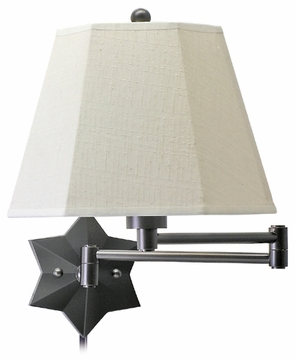 House of Troy WS751 House of Troy Star Wall Swing Arm Lamp