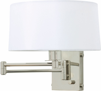 House of Troy WS776-PN Decorative Polished Nickel Swing Arm Lighting