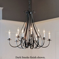 Hubbardton Forge 10-1469 Sweeping Taper 9-Light Candelabra Chandelier