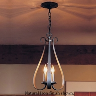 Hubbardton Forge 10-1473 Sweeping Taper 3-Candle Foyer Light