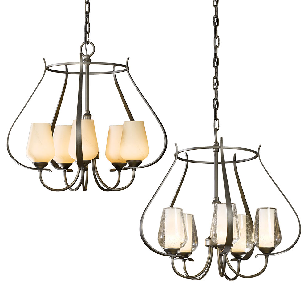Hubbardton Forge 103045 Flora Mini Ceiling Chandelier Loading Zoom