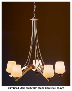 Hubbardton Forge 104105 Ribbon 5 Light Chandelier Hub 104105