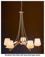 Hubbardton Forge 104105 Ribbon 5-Light Chandelier