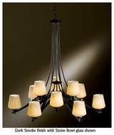 Hubbardton Forge 104107 Ribbon 12-Light Chandelier