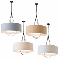 Hubbardton Forge 104230 Loop Drum Pendant Lighting