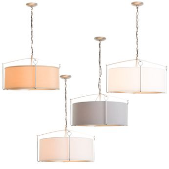 Hubbardton Forge 104250 Bow 24  Drum Pendant Light