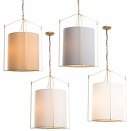 Hubbardton Forge 104260 Bow 19  Drum Pendant Lamp