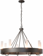 Hubbardton Forge 105040 Banded Ring Chandelier Lighting