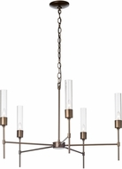 Hubbardton Forge 105045 Vela Lighting Chandelier