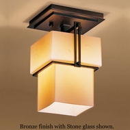 Hubbardton Forge 12-3755 Kakomi Single Semi-Flush Ceiling Light