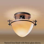 Hubbardton Forge 12-4247 Moonband Semi-Flush Deep Ceiling Light