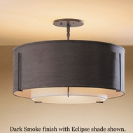 Hubbardton Forge 12-6503 Exos Double Shade Large Semi-Flush Ceiling Light
