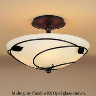 Hubbardton Forge 12-6712 Leaf Semi-Flush Ceiling Light