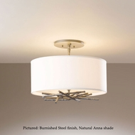 Hubbardton Forge 12-7660 Brindille Semi Flush Mount 14 Inch Diameter Ceiling Lighting