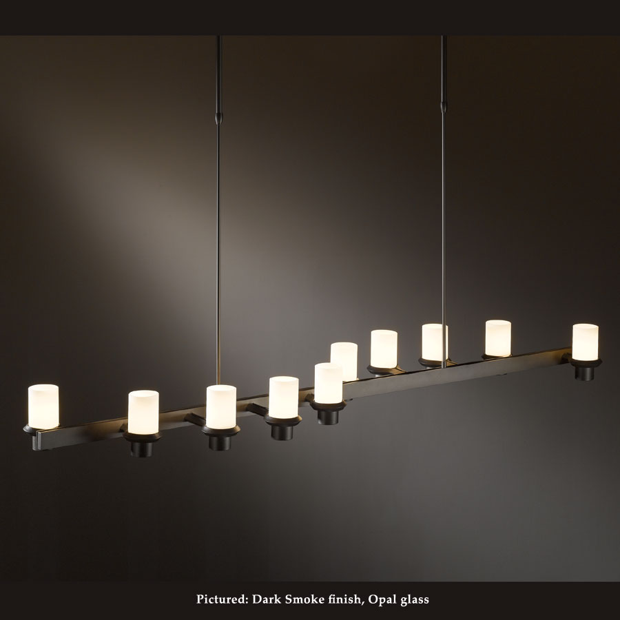 Hubbardton Forge 13 4915 Staccato Large 58 Inch Long Island Lighting Wave Arrangement Loading Zoom