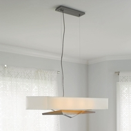 Hubbardton Forge 13-7620 Facet Adjustable Drop Lighting With Shade Options