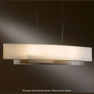 Hubbardton Forge 13-7650 Current 42 Inch Long Hanging Lamp With Shade Options