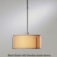 Hubbardton Forge 13-9600 Exos Medium Single Shade Adjustable Pendant