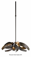 Hubbardton Forge 136500 Corona 4 Lamp Modern Halogen Drop Lighting  - 19 Inch Diameter
