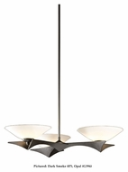 Hubbardton Forge 136550 Moreau 27 Inch Diameter 3 Lamp Halogen Lighting Chandelier - Wrought Iron