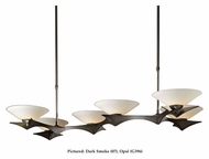 Hubbardton Forge 136555 Moreau 49 Inch Wide 6 Lamp Wrought Iron Island Lighting