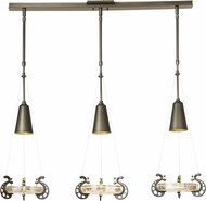 Hubbardton Forge 137815 Lens Multi Pendant Light