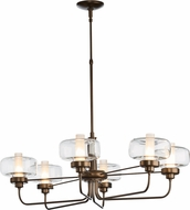 Hubbardton Forge 137840 Nola Lighting Chandelier
